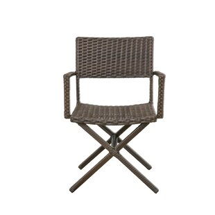 Barta Wicker Patio Dining Chair (Set of 4)
