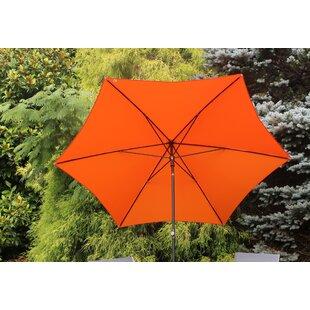 Valensia 2.5m Traditonal Parasol By Sol 72 Outdoor