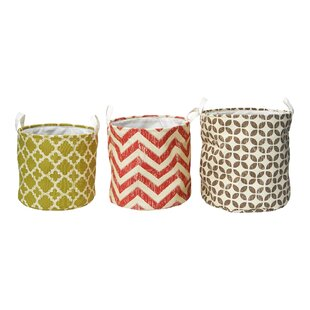 Look for 3 Piece Oval Nesting Storage Basket Set By Elements