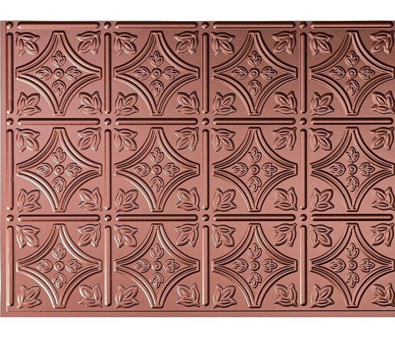 Retroart Savannah Backsplash Wall Paneling 18 X 24 Field Tile In