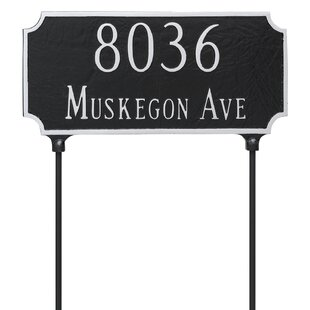 Double Sided Address Plaques Signs You Ll Love In 2021 Wayfair Ca