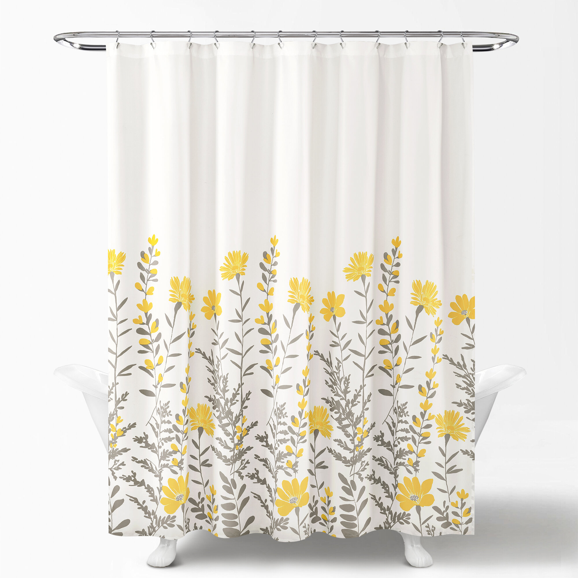 Nature Floral Shower Curtains Shower Liners Free Shipping Over 35 Wayfair