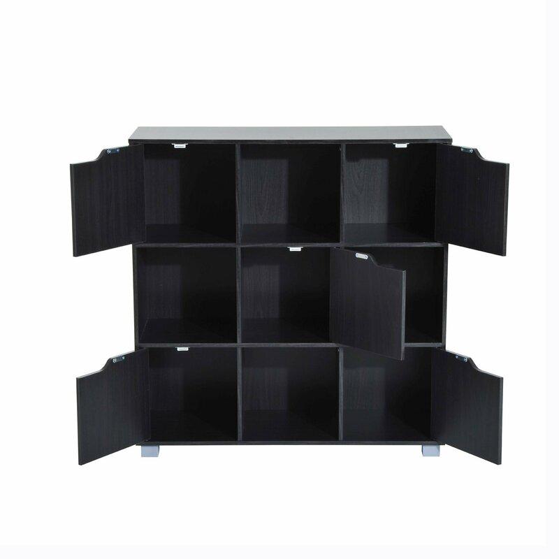 Thiessen 9 Cubby Storage Organizer Cube Unit Bookcase