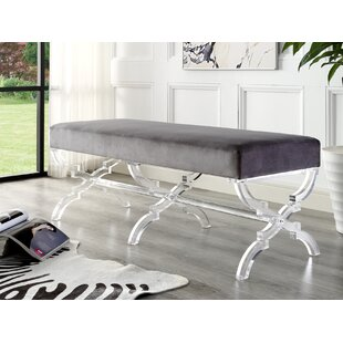 Find the perfect Sagamore Upholstered Bench By Rosdorf Park