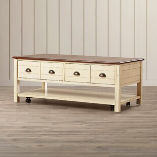 Low priced Chesapeake Coffee Table By Beachcrest Home