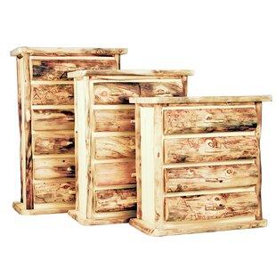 Savings Aspen Heirloom 6 Drawer Lingerie Chest by Mountain Woods Furniture