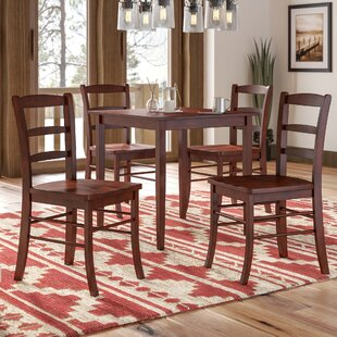 Avawatz 5 Piece Dining Set by Loon Peak No Copoun