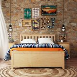 Muncie Solid Wood Mate's and Captain's Bed with Trundle by Harriet Bee