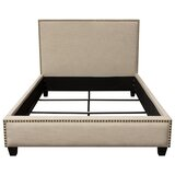 La Jolla Upholstered Low Profile Standard Bed by Diamond Sofa