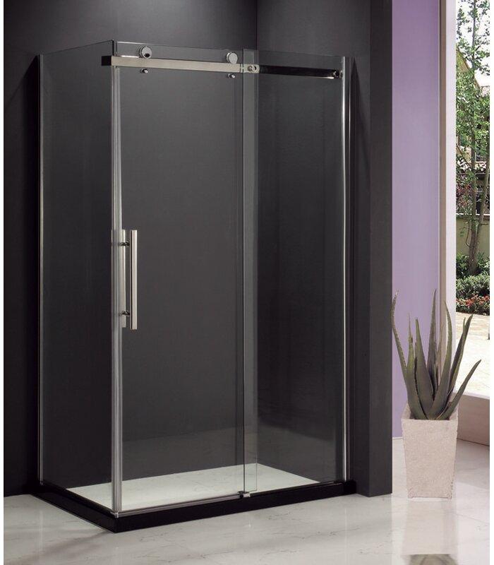 Jade Bath Hasper 4725 X 8175 Single Sliding Frameless Shower