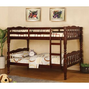 Davy Twin over Twin Bunk Bed by Harriet Bee
