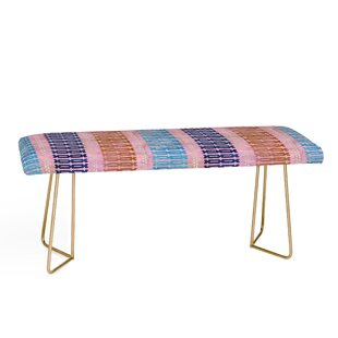 East Urban Home Schatzi Upholstered Bench
