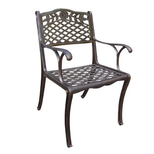 Thompson Cast Aluminum Patio Dining Chair