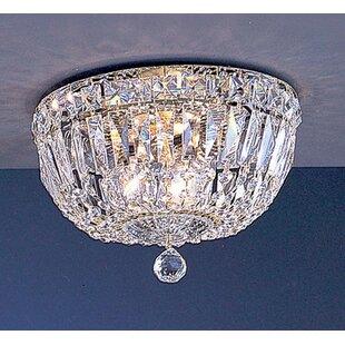 Classic Lighting Empress 3-Light Semi-Flush Mount