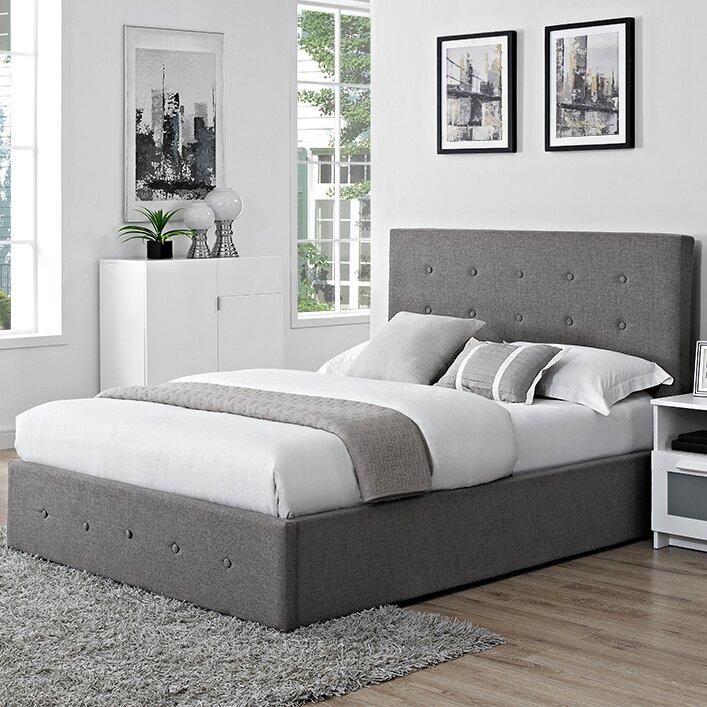 Acamar Upholstered Ottoman Bed