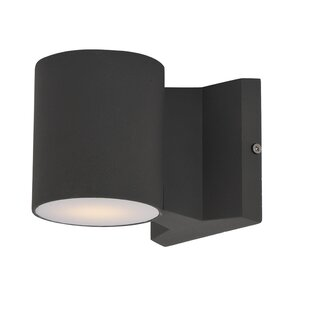 Top Brands of Leilla 2-Light LED Outdoor Sconce By Orren Ellis
