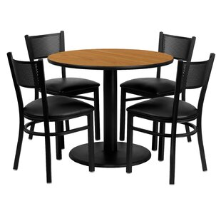 Ravindra 5 Piece Dining Set by Red Barrel Studio New Design