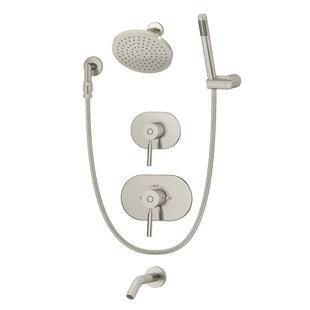 Symmons Sereno Pressure Balance Tub and Shower System with Lever Handle