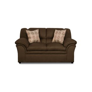 Simmons Upholstery Beasley Loveseat by Alcott Hill