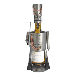 Nutcracker 1 Bottle Tabletop Wine Rack by..