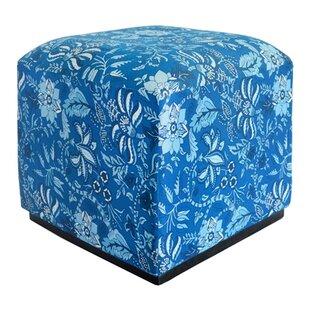 Divine Designs Palampore Cube Ottoman