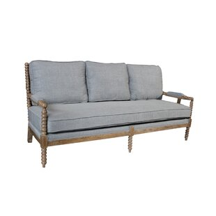 Janessa Linen Sofa by One Allium Way