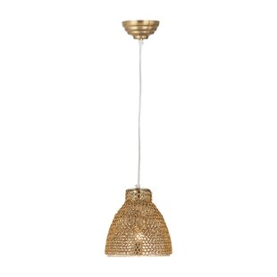 Bay Isle Home Stanfield 1-Light Cone Pend..