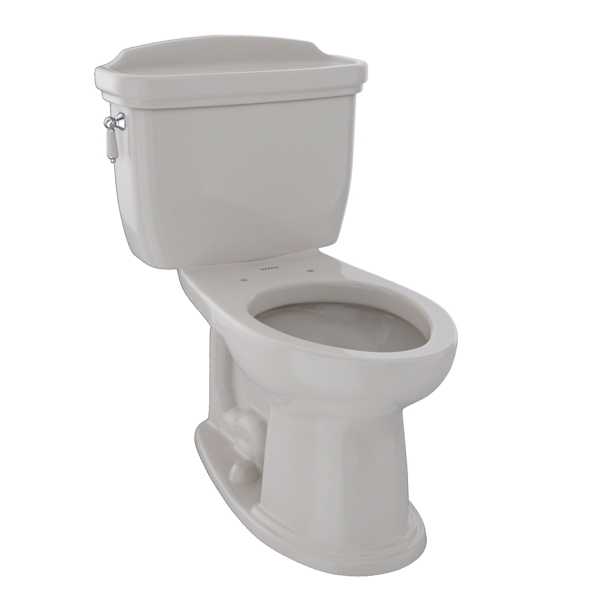 Phenomenal Dartmouth 1 6 Gpf Elongated Two Piece Toilet Seat Not Included Evergreenethics Interior Chair Design Evergreenethicsorg