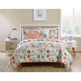 Appling Sea Star Reversible Quilt Set