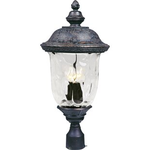 Patidar Traditional Outdoor 3-Light Lantern Head by Astoria Grand