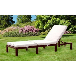 Chaya Reclining Sun Lounger With Cushion By Sol 72 Outdoor