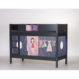 Englewood European Single Bunk Bed With Textile Set By Zoomie Kids