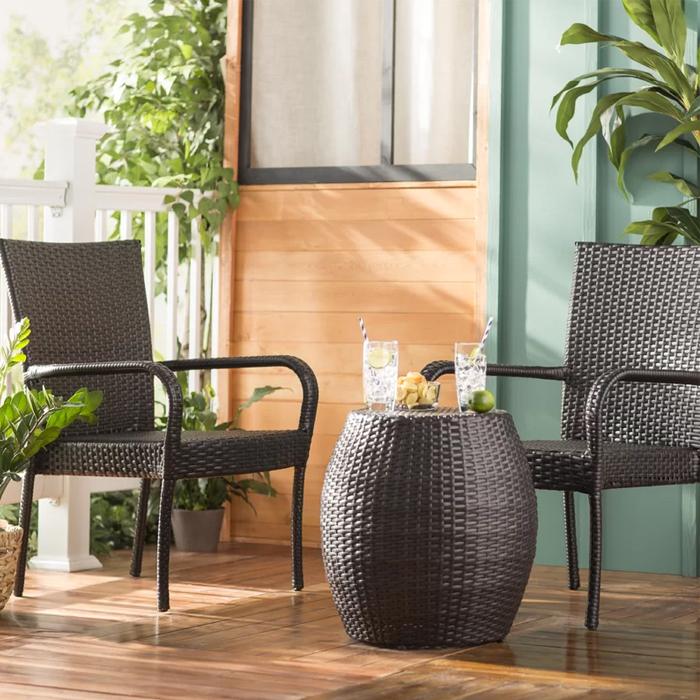 Modern Small Space Outdoor Furniture | AllModern
