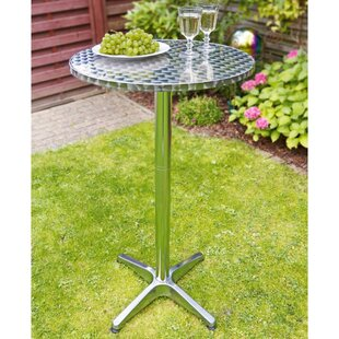 Fulghum Folding Metal Bar Table By Sol 72 Outdoor