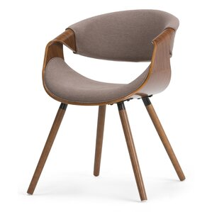 Wayland Bentwood Upholstered Dining Chair by Simpli Home