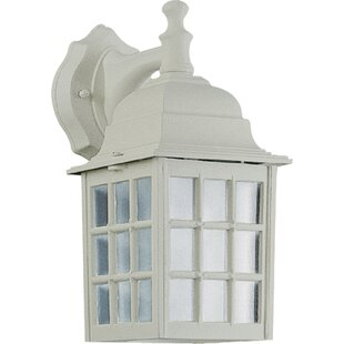 Charlton Home Dukinfield 1-Light Outdoor Wall Lantern