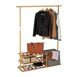 Ardara 124cm Wide Clothes Rack By Ebern Designs
