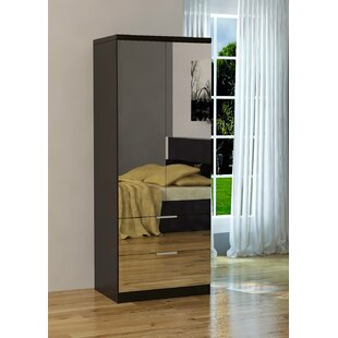 Comparison Alpha Centauri Mirrored Armoire By Mercer41