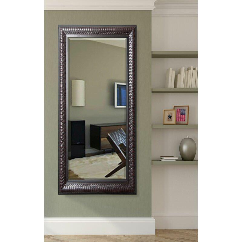 Fleur De Lis Living Rectangle Traditional Beveled Full Length Mirror Wayfair