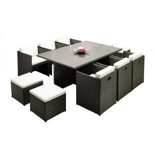10 Seater Outdoor Dining Table | Wayfair.co.uk