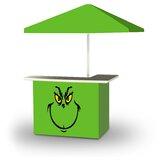 Yentin Christmas Grinch 2-Piece Home Bar Set