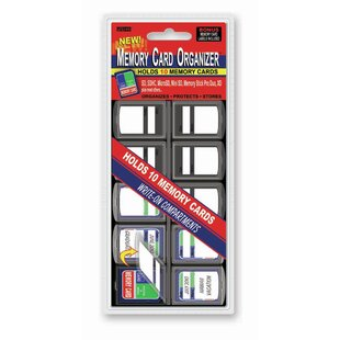 Pioneer Photo Albums 3 Pack Memory Card Organizer