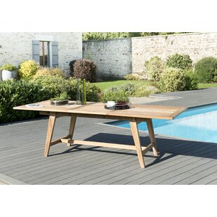 Xiao Extendable Teak Dining Table Image