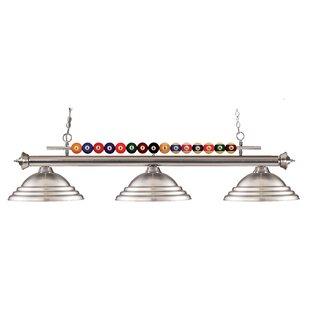 Red Barrel Studio Chapa 3-Light Pool Table Light