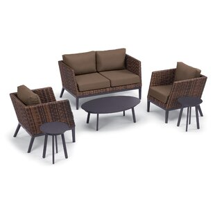 Cammack 6 Piece Sofa Seating Group with Cushions