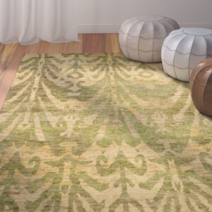 Pinehurst Oriental Green/Gold Area Rug