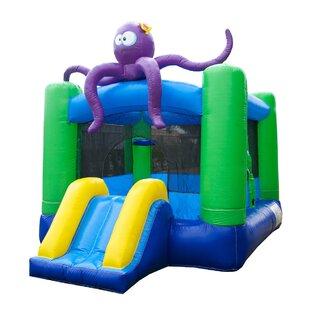 JumpOrange Kiddo Octopus Bounce House