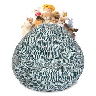 Christman Stuffed Animal Toy Storage Bean Bag Chair by Ebern Designs