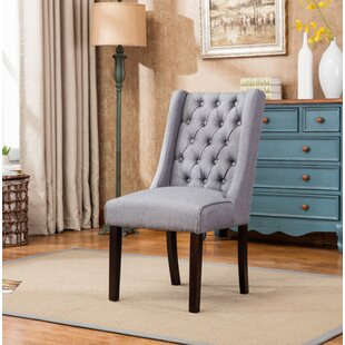 Pirton Button Tufted Upholstered Dining Chair Gracie Oaks