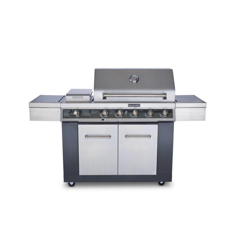 KitchenAid 5-Burner Liquid Propane Gas Grill - 720-0709C ...